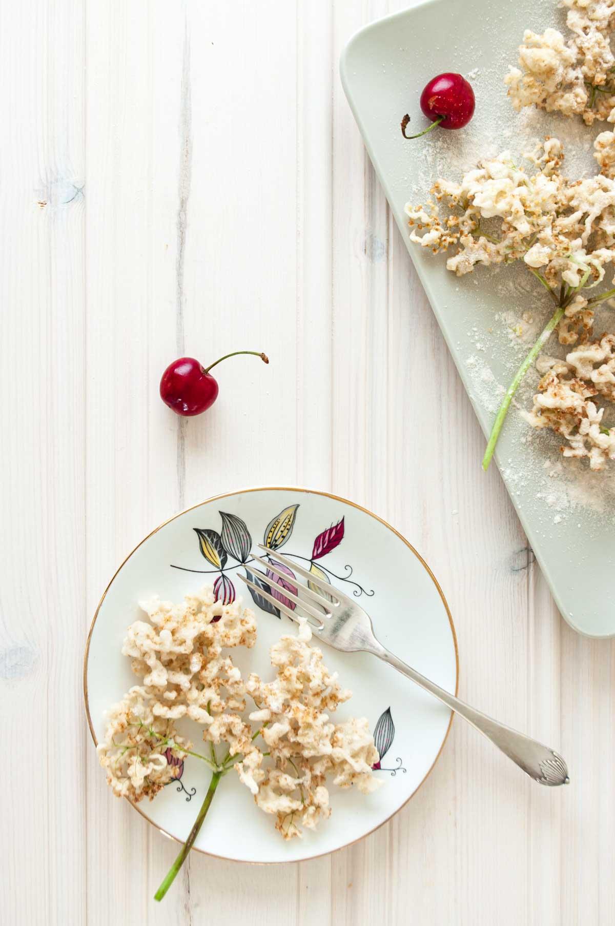 Elderflower fritters recipe