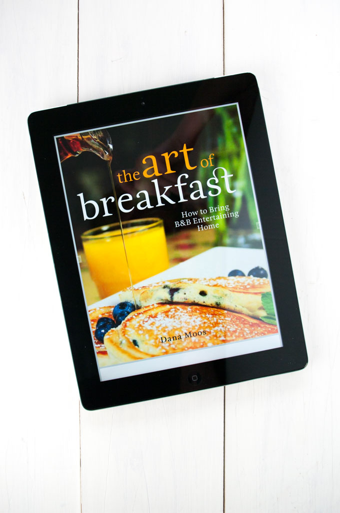 Art of Breakfast cookbook review - A fabulous breakfast and brunch cookbook by Dana Moos. By deliciouscratch | deliciousfromscratch.com