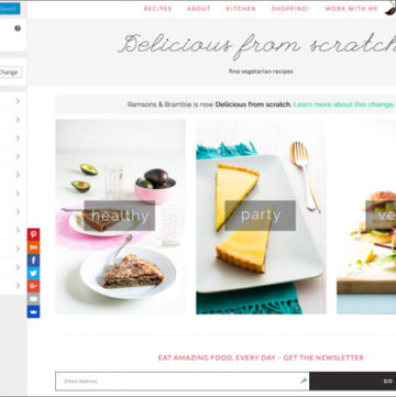 Food Blogging Resources - all the tools you need for writing, photography and web design for a beautiful food blog.