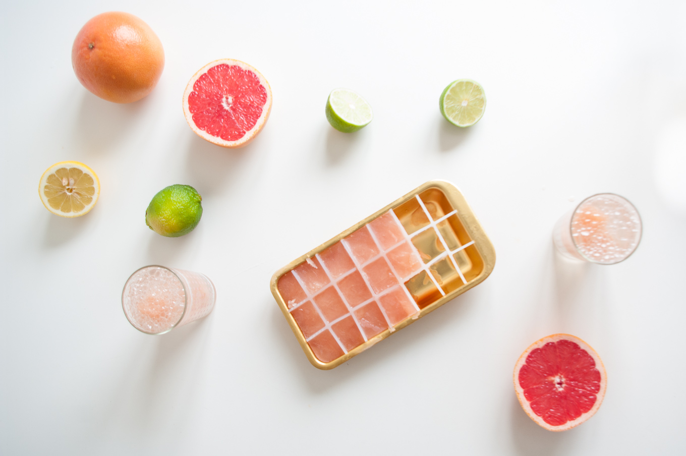 Citrus Fizz with Lemon, Lime and Grapefruit – A super healthy, non ...