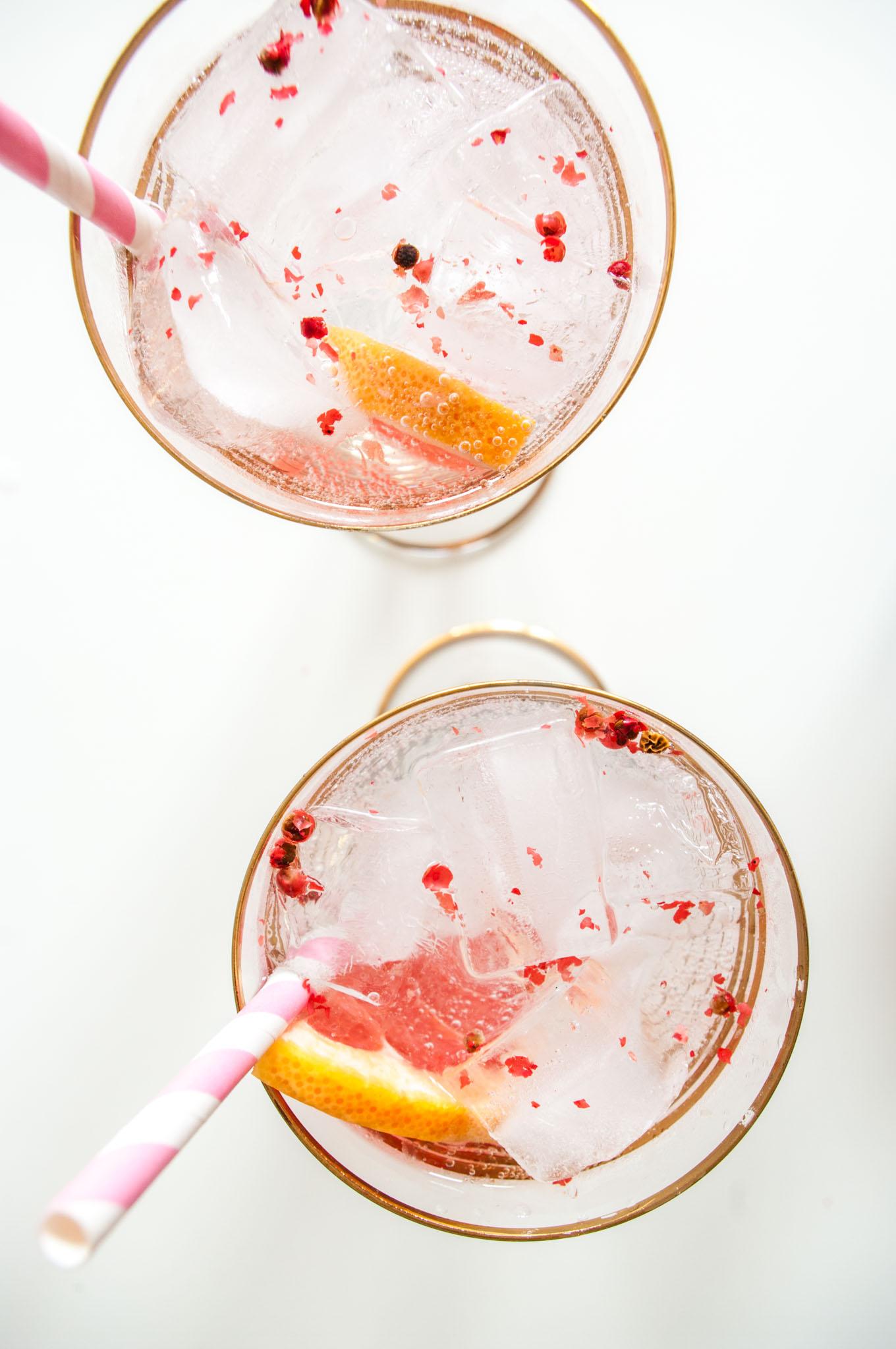 Pink Grapefruit Gin And Tonic Recipe