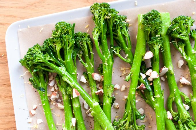 Sautéed tenderstem with lemon