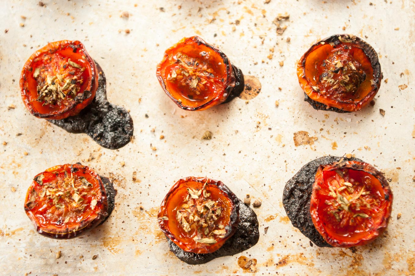 roasted tomatoes, seasoned with fruity balsamic and fragrant oregano ...