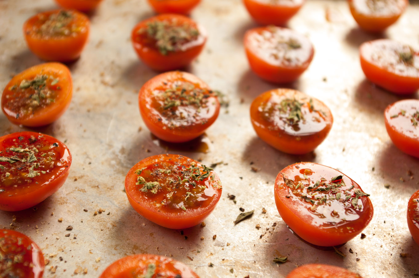 as many cherry tomatoes as you fancy balsamic or another sweet, fruity ...
