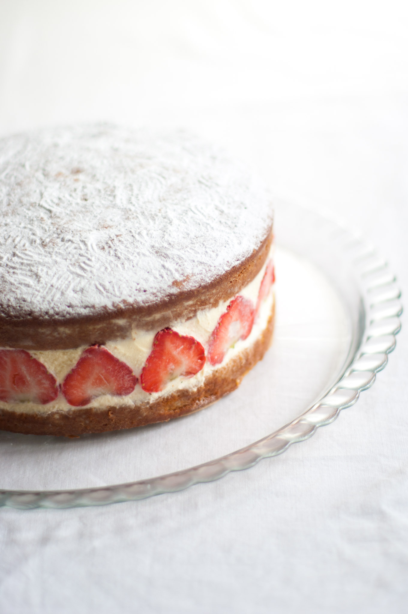 Victoria Sandwich Cake Delicious From Scratch