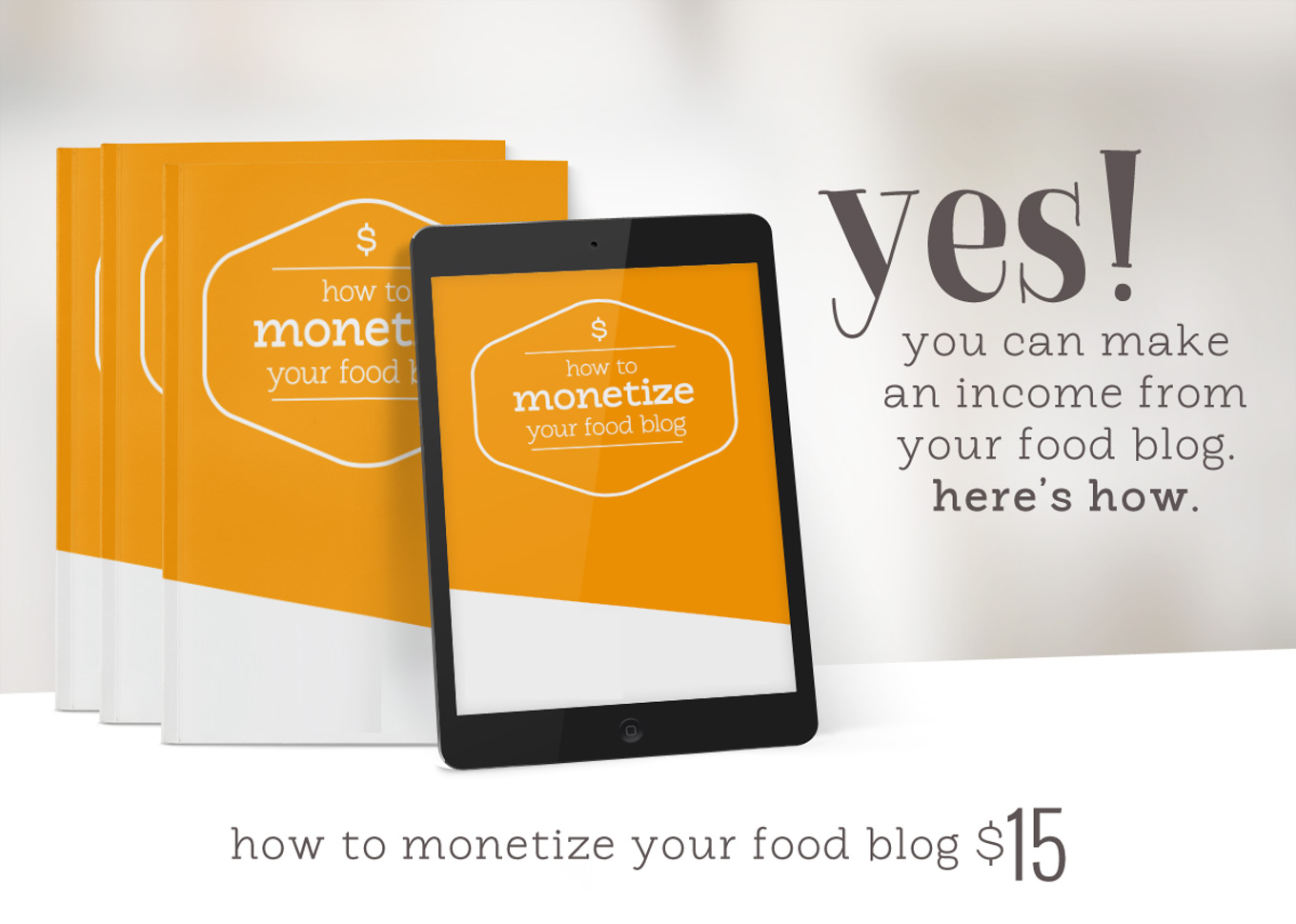 Food Blogging Resources to Monetise your Food Blog - if you're wondering how to make money from a food blog, here are my best tips and tools.