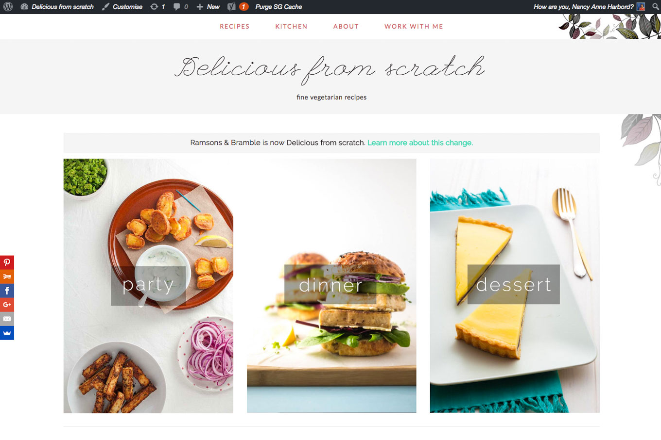 Starting a food blog delicious from scratch starting a food blog forumfinder Gallery
