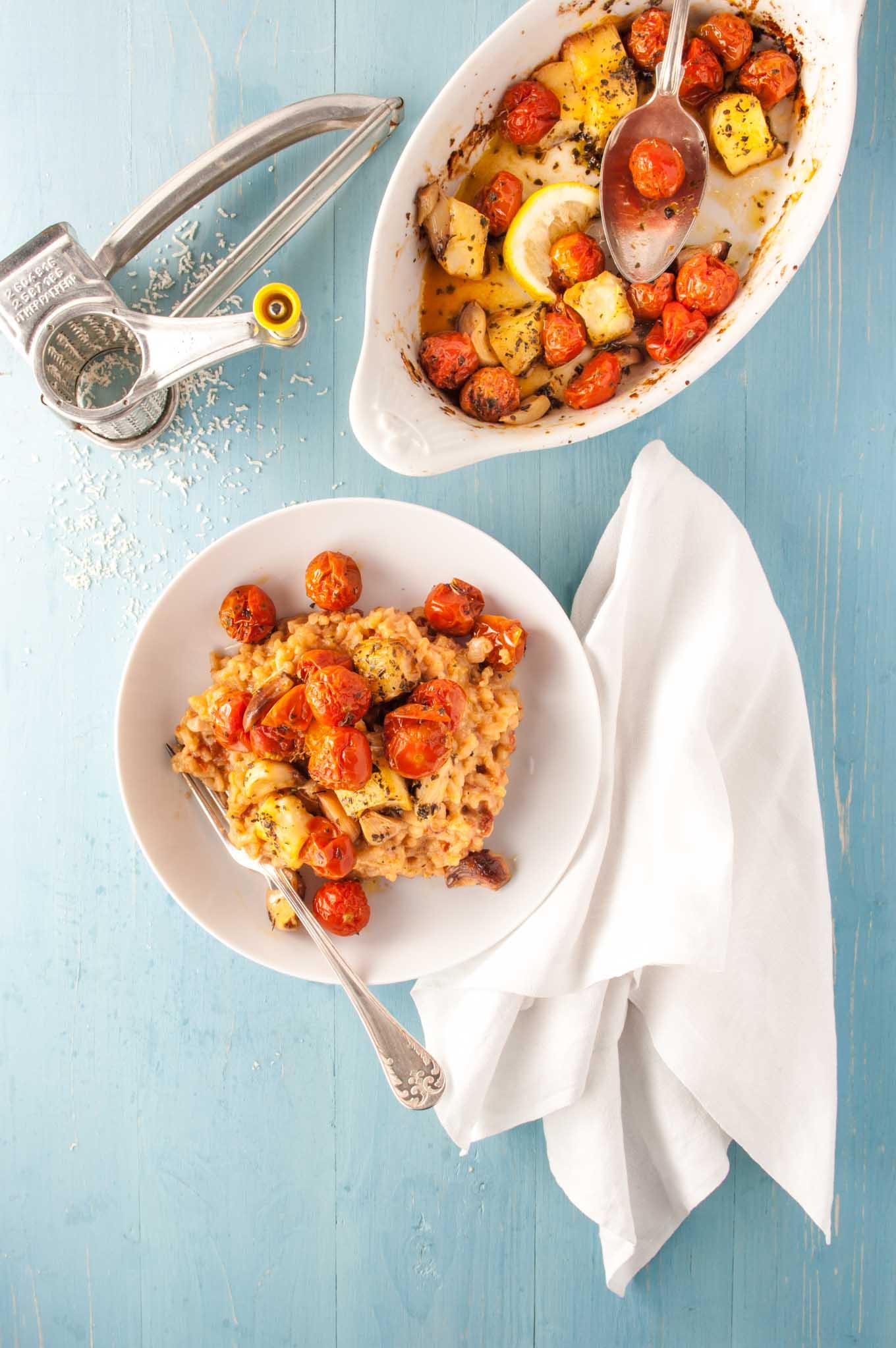 recipe: tomato risotto recipe vegetarian [11]