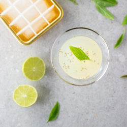 Lemon, Thai basil and gin cocktail recipe