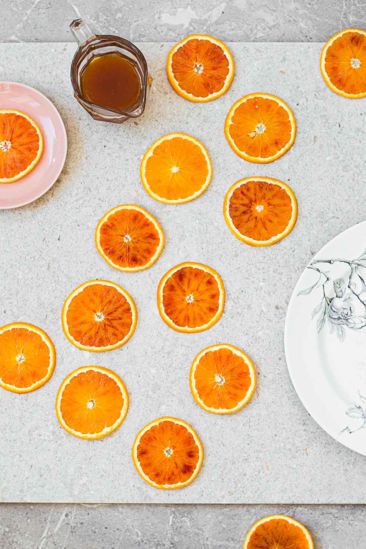 Blood orange syrup for orangeade