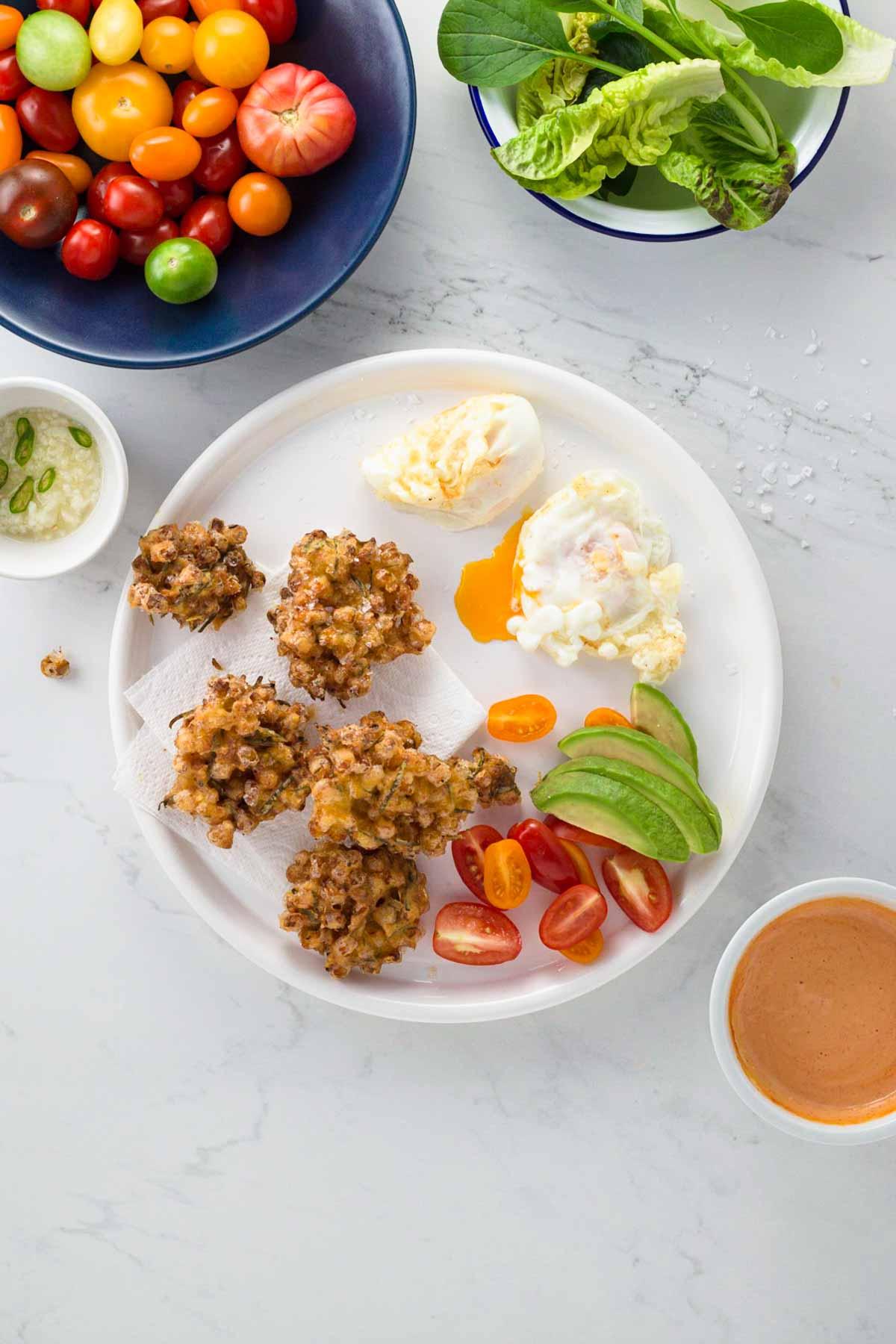 Vegetarian brunch recipe
