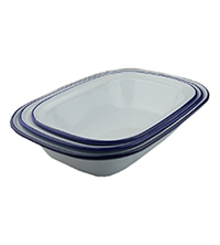 Best Baking Dishes - Falcon Enamel Baking Dishes