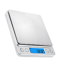 Best Micro Scale - High Precision Scale 0.01g - 500g for accurate kitchen measurements