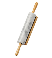 Best Rolling Pin - Heavy Marble Rolling Pin with Stand