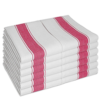 Best Tea Towels - Vintage Style Thick Large Cotton Kitchen Towels