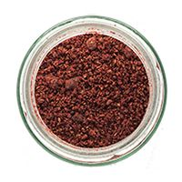 Tart dried berry powder, sprinkle where you need a lemony garnish.